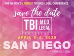 TBI Med Legal Conference